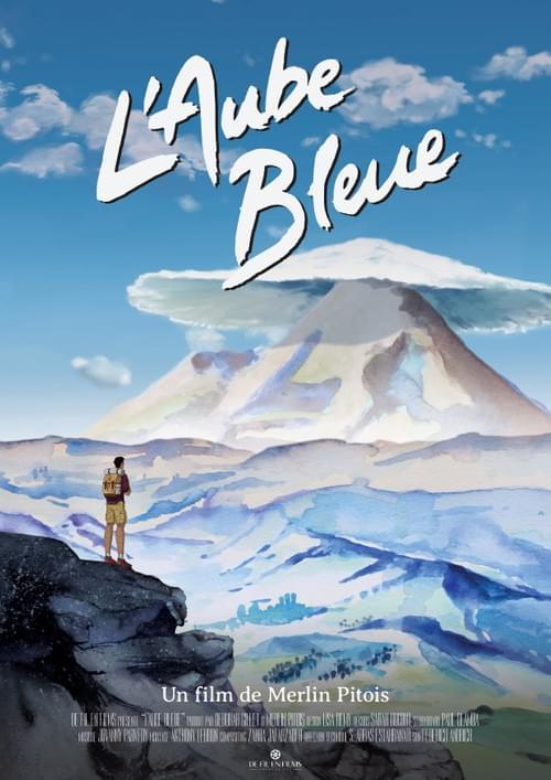 Affiche du film L'Aube Bleue de Merlin Pitois