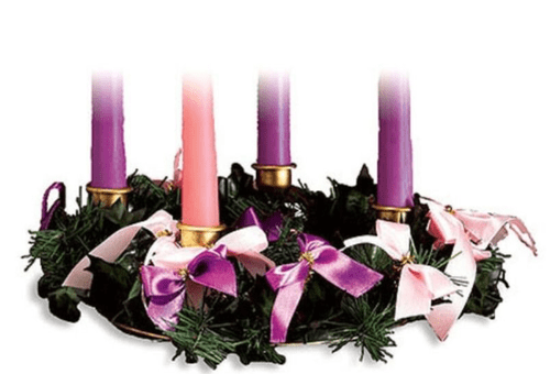 Advent Wreath without Ribbon