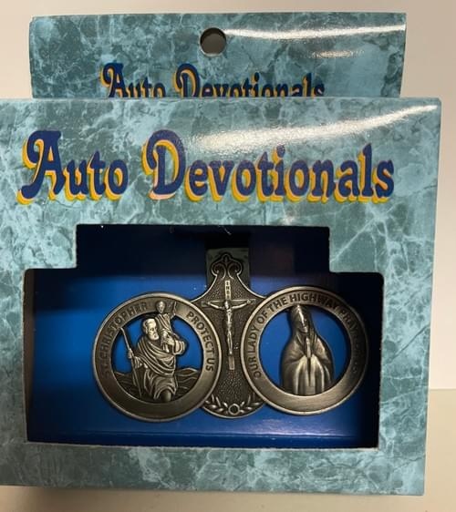 St. Christopher & Our Lady of the Highway Auto Devotionals