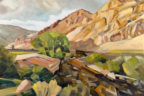 East Fork of the Salmon at White Clouds Preserve - Paper and Canvas Giclee Prints Available