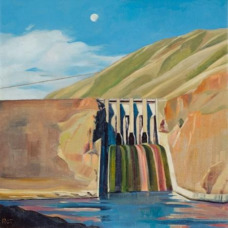 Brownlee Dam - Paper and Canvas Giclee Prints Available