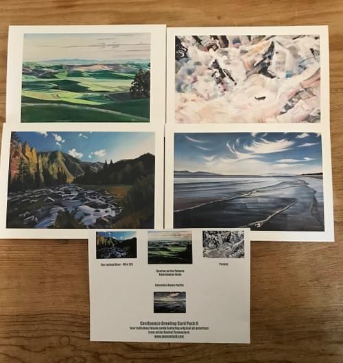 The Confluence Greeting Card Pack II (*shipping included within the U.S.)