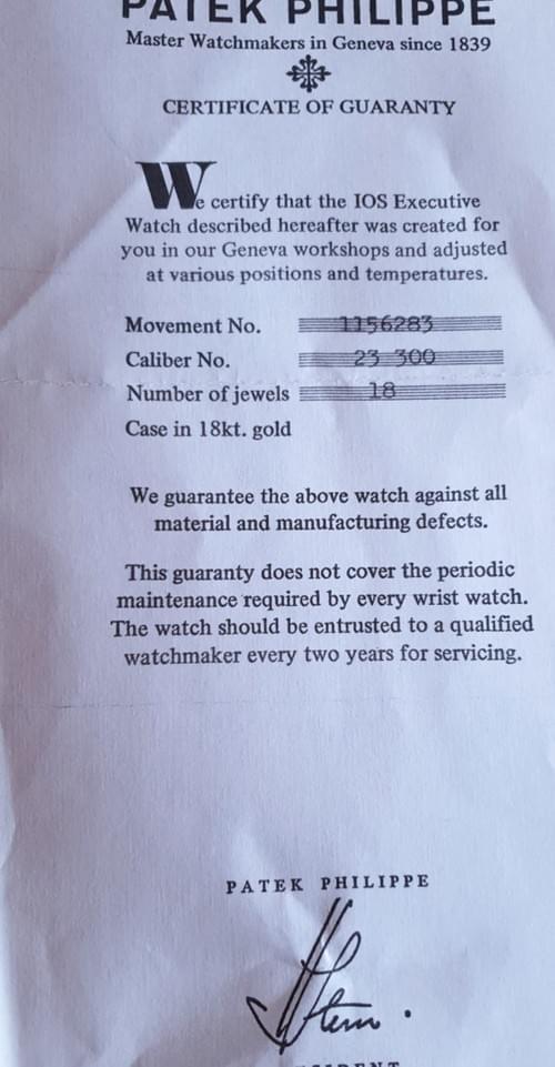 """PATEK PHILIPPE Calatrava """"IOS / R"""" ref.3562.1 vers 1968. Superbe condition"""