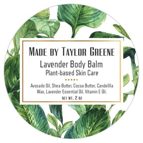 Body Balm (Lavender | Matcha) - 2 oz Tin