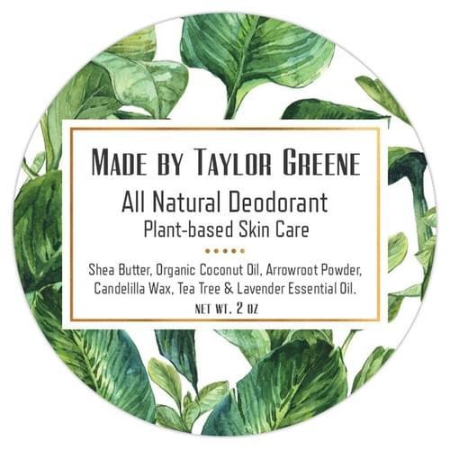"Natural ""Baking Soda-Free"" Deodorant - 2 oz Tin"