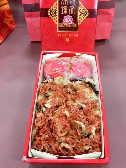 彌月油飯-紅蛋款(盒)