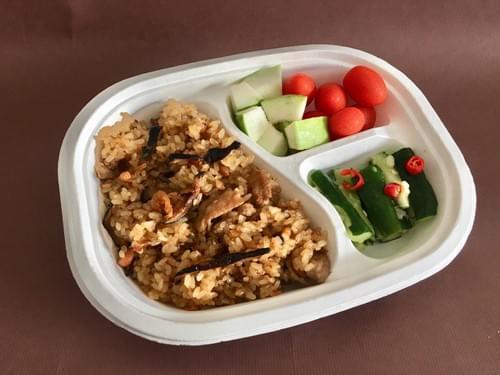 健康油飯餐盒 (預購商品)
