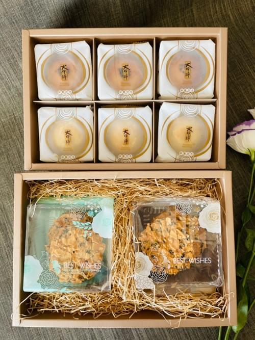 皎月禮盒(蛋奶素)