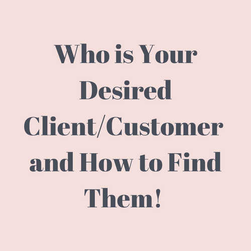 Desired Client Workbook -Download