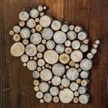 8/2/20 Wood Slice Workshop $59 Greenfield, WI