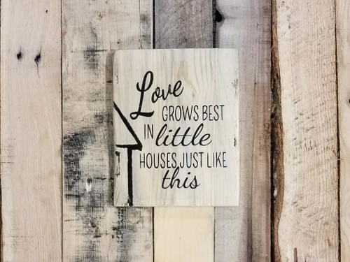 Little Houses Sign