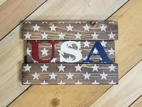 USA Stars Sign