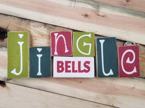 Give Thanks/Jingle BellsReversible Blocks
