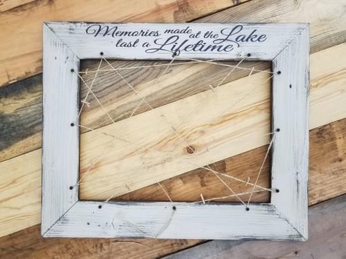 Lake Memories Frame