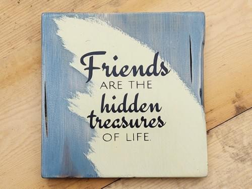 Treasured Friends Sign
