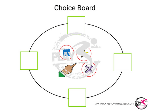 Token Board and Choice Board