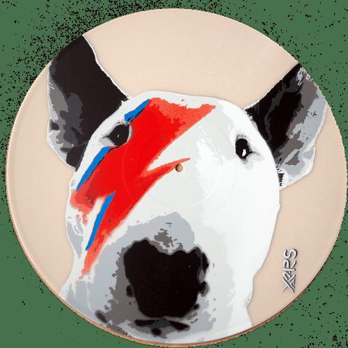 Bull Bowie sur vinyle 33t crème