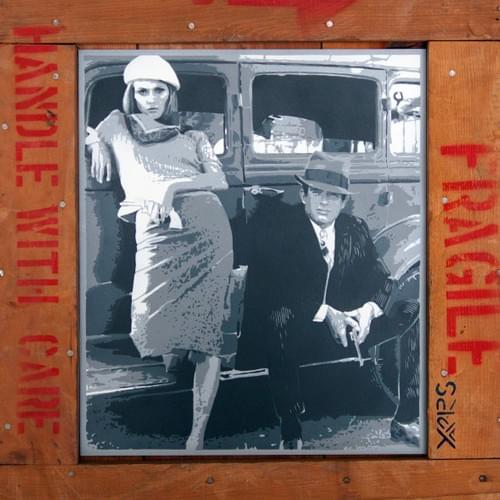 repro sur toile Bonnie and Clyde