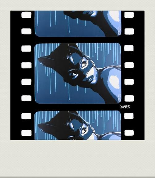 Pola Catwoman blue