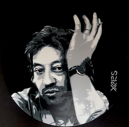 Gainsbourg sur Vinyl 33tr Black