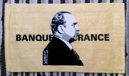 Al Capone sur sac à billets de la Banque de France