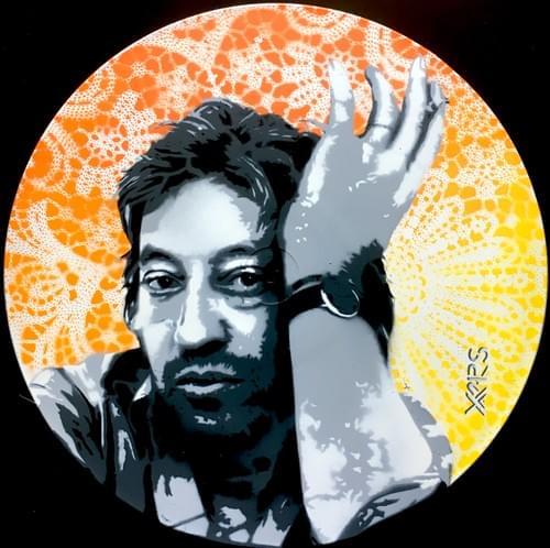 Gainsbourg sur vinyl Orange/Jaune