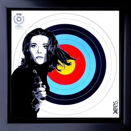 Emma Peel 20x20 Caisse US noire