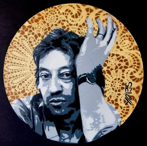 Gainsbourg sur Vinyl 33tr Marron