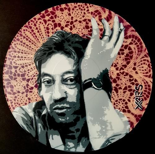 Gainsbourg sur Vinyl 33tr Rose