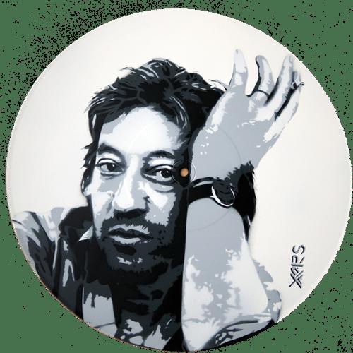 Gainsbourg blanc sur vinyle 33t