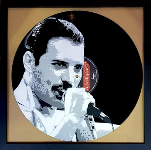Freddie Mercury sur vinyl  label Mercury