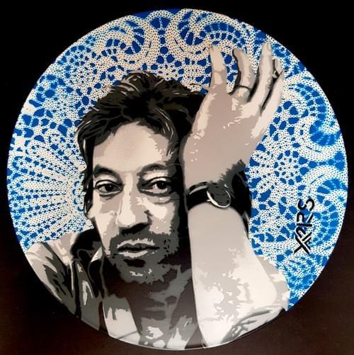 Gainsbourg sur vinyl 33tr Blue