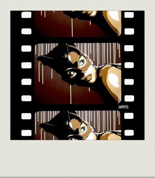 Pola Catwoman brune