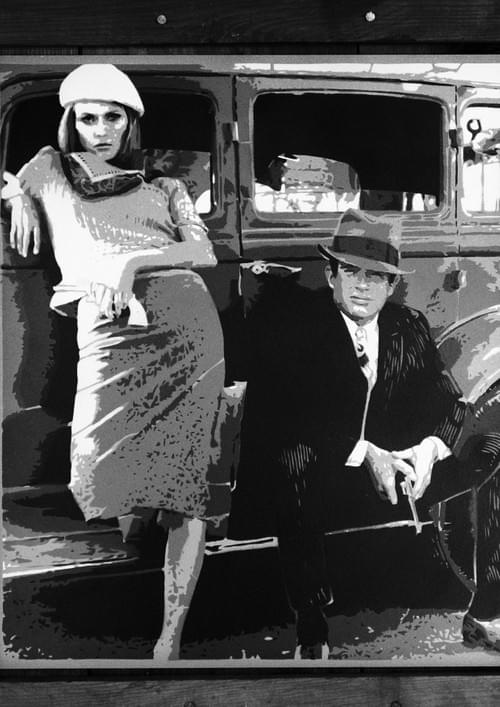 Tirage Bonnie and Clyde