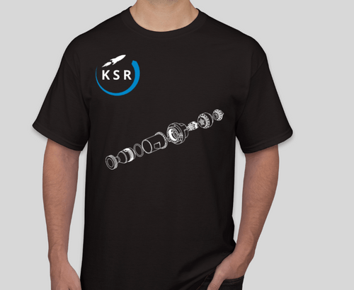 KSR 1 Engine T-Shirt