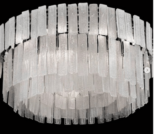 A monumental 20th Chandelier/DIMENSIONS H 88.59 in. x Dm 35.44 in. H 225 cm x Dm 90 cm DIAMETER 35.4