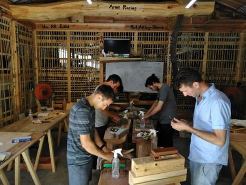 Learn Japanese woodworking in English. 2020 Intensive course 1 month course in kyoto, Japan
