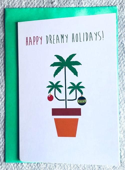 Weed Christmas Card, Marijuana Card, Stoner Card, Cannabis, Funny Greeting Card, Dope, Happy Holiday