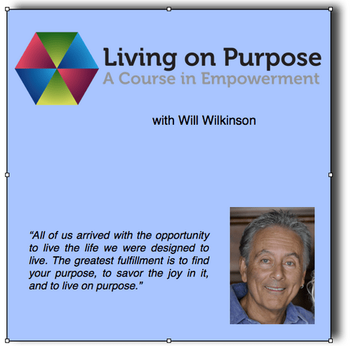 Living on Purpose course