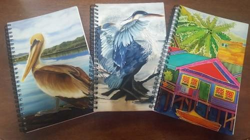Journal with Silk Dyed Covers