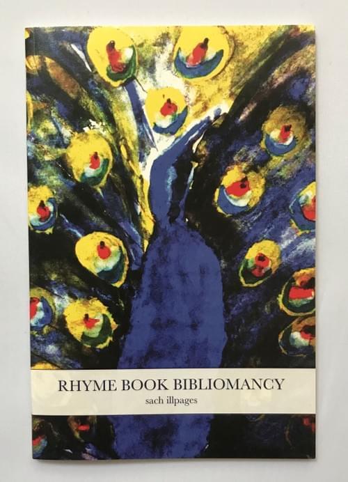 """Rhyme Book Bibliomancy"" by sach illpages"