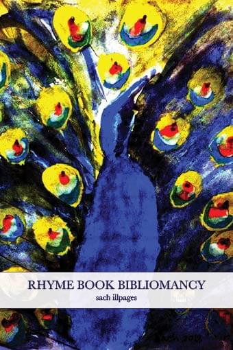 """Rhyme Book Bibliomancy"" by sach illpages"