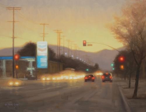 Urban Dawn (14x18)