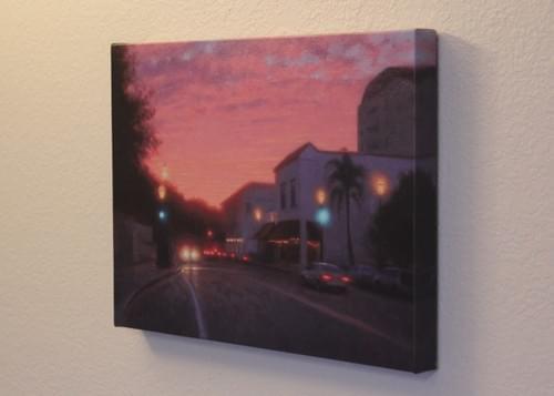 Sunset Santa Barbara (12x16)