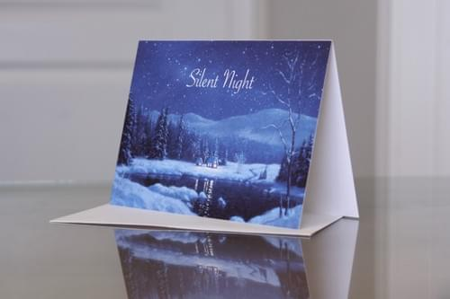 """Silent Night"" Cards"