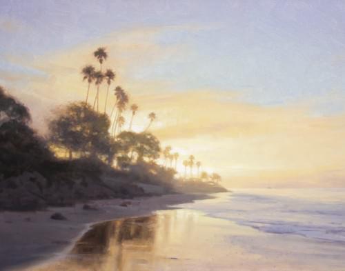 Butterfly Beach - Lifting Fog