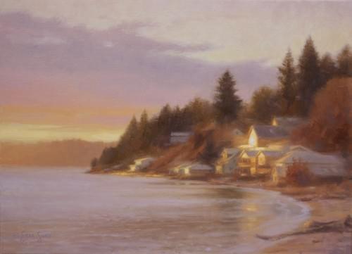 Toward the Morning Sun (11x15)