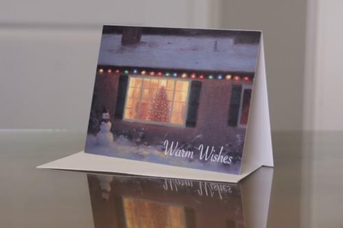 """Warm Wishes"" Cards"