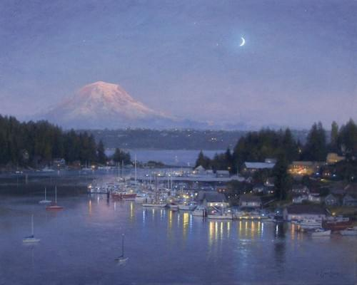 Gig Harbor - Evening Reflections