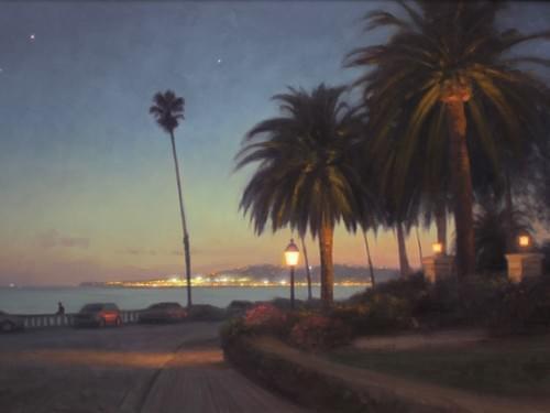 Santa Barbara Twilight (20x15)